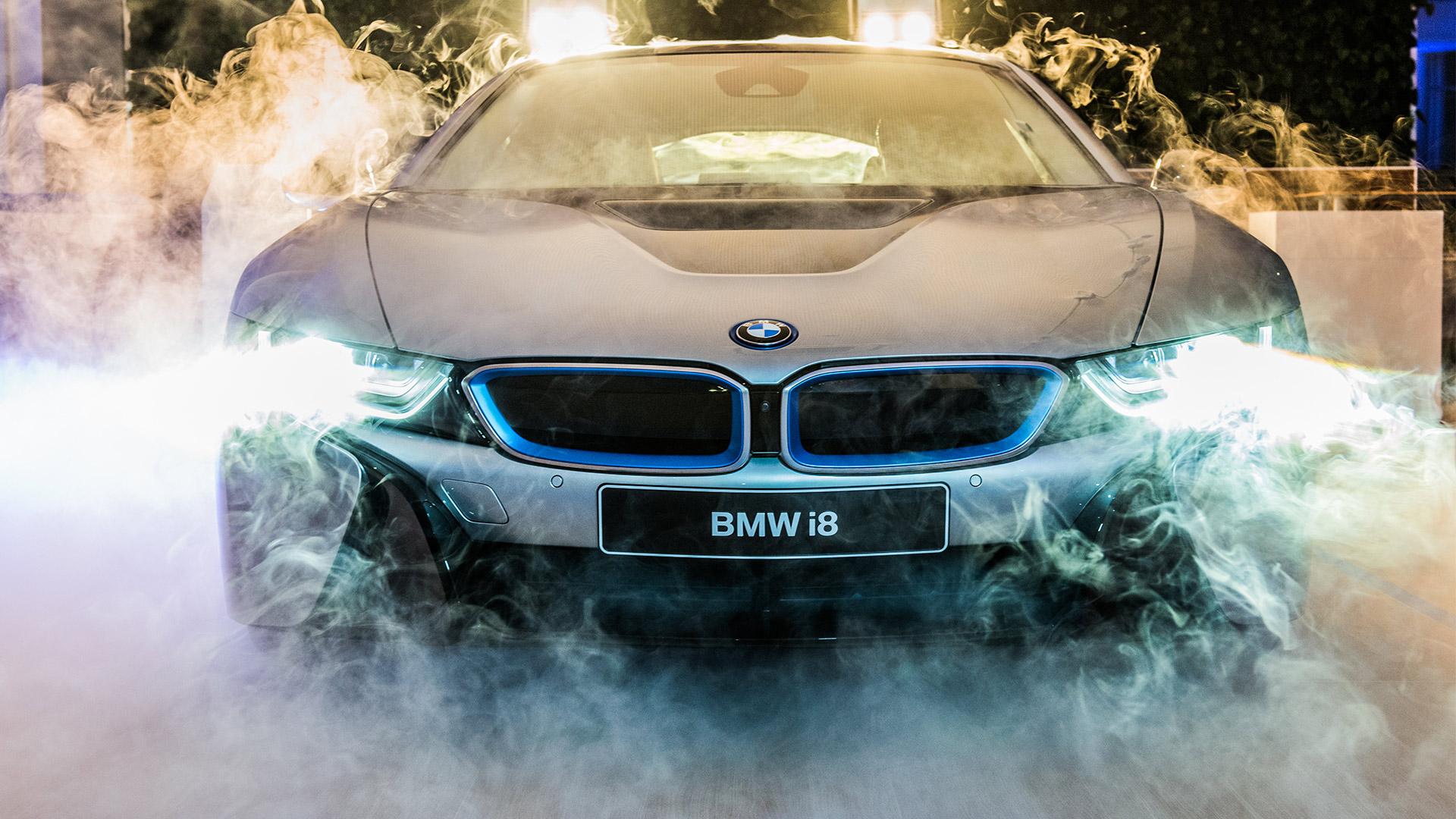 BMW i8 Präsentation