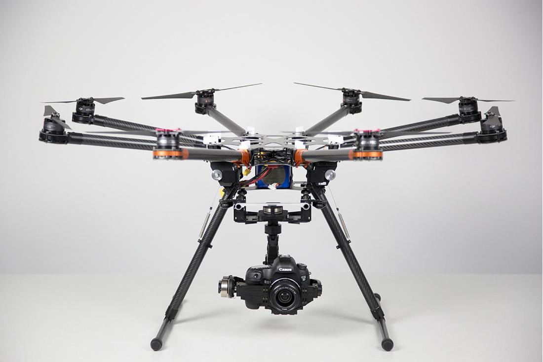 Drohnen-Shows und Luftaufnahmen