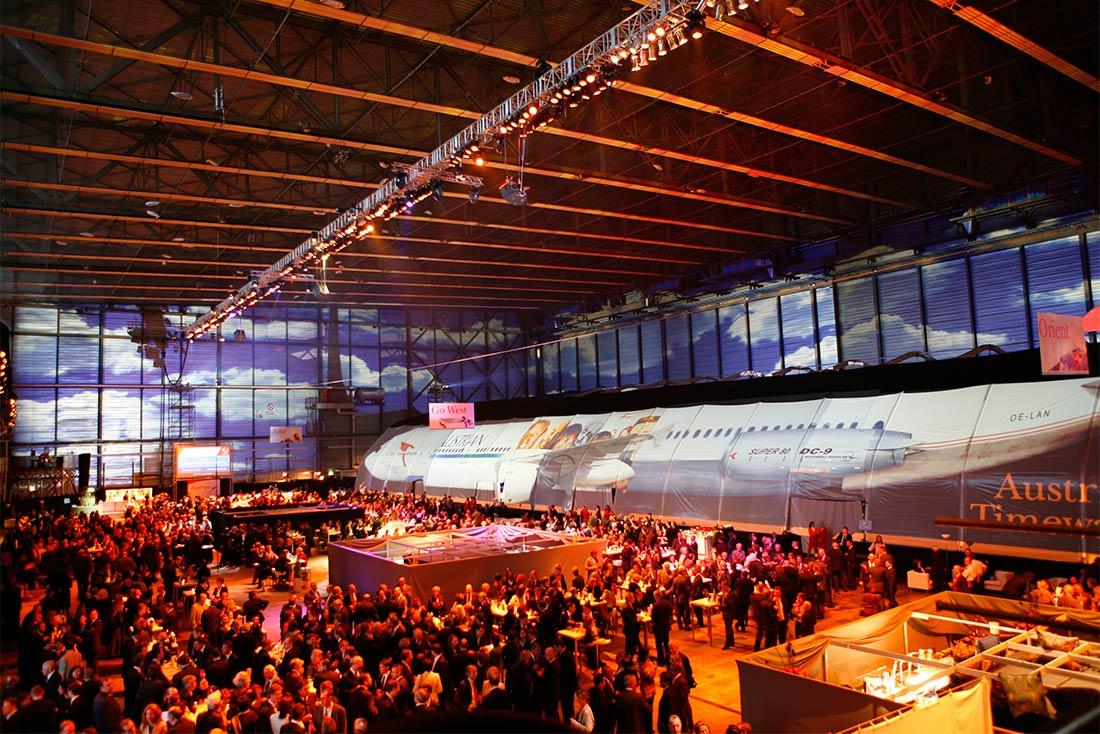 3DC - Mitarbeiter und VIP Event Austrian Airlines